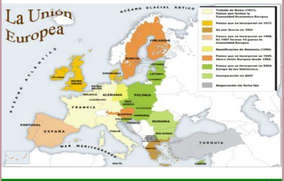 mapa UE 1